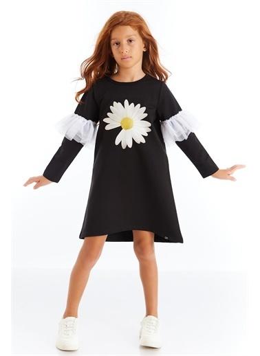 Colorinas Papatya Baskılı Tütülü Elbise Renkli